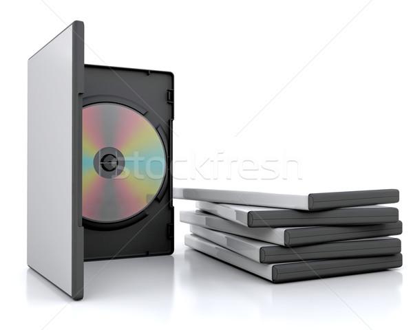 dvd cases Stock photo © kjpargeter