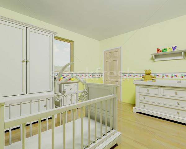 nursery Stock photo © kjpargeter
