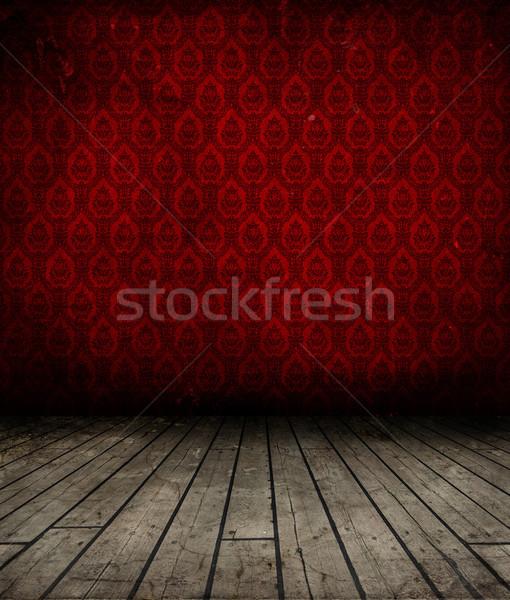 Grunge interior papel pintado antiguo pared textura Foto stock © kjpargeter