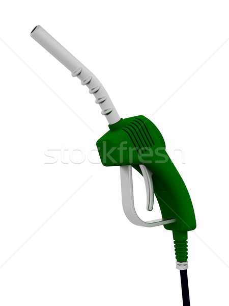 Benzinpumpa fúvóka 3d render ötlet üzemanyag benzin Stock fotó © kjpargeter