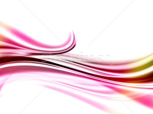 Abstract roze achtergrond golven kleur illustratie Stockfoto © kjpargeter