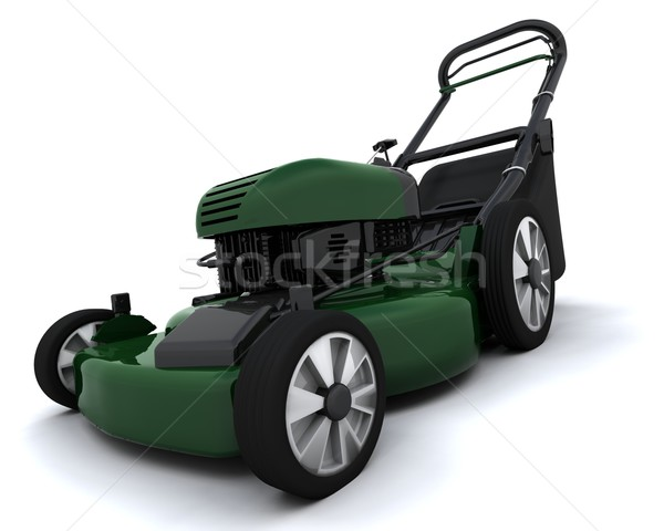 lawn mower Stock photo © kjpargeter