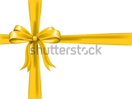 gold bow  Stock photo © kjpargeter