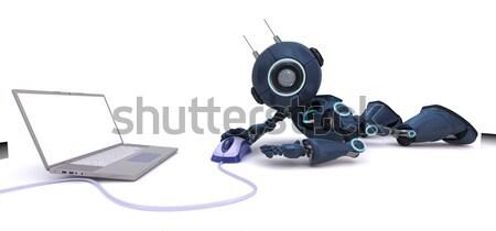 3D Handy cam Stock photo © kjpargeter