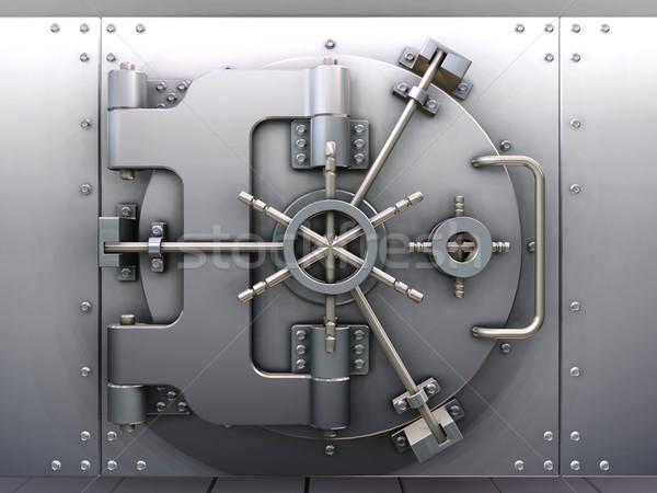 Stock photo: Bank vault