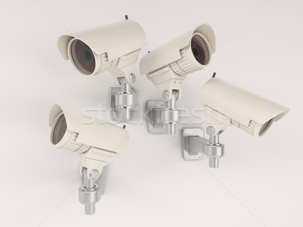 CCTV Security Camera Stock photo © kjpargeter