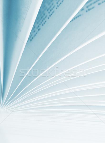 説明 図書 読む ライブラリ タイプ ストックフォト © kjpargeter