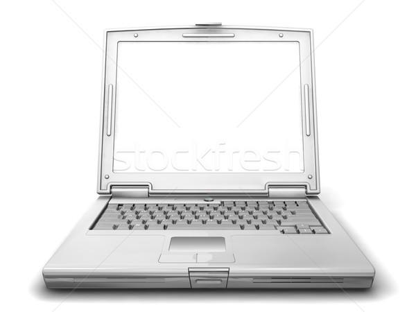Générique portable rendu 3d technologie touches objet Photo stock © kjpargeter