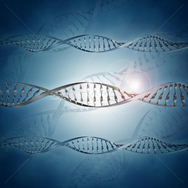 3D orvosi DNS egészség élet kémia Stock fotó © kjpargeter