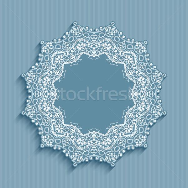 Decorative retro styled background  Stock photo © kjpargeter