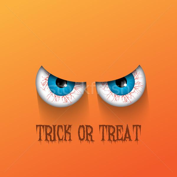 Spooky Halloween background Stock photo © kjpargeter