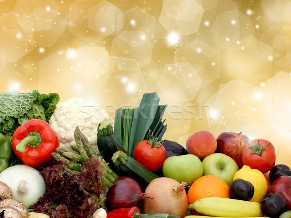 Fruit and vegetables Stock photo © kjpargeter