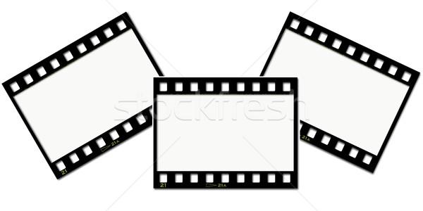 Stock fotó: Film · csíkok · absztrakt · háttér