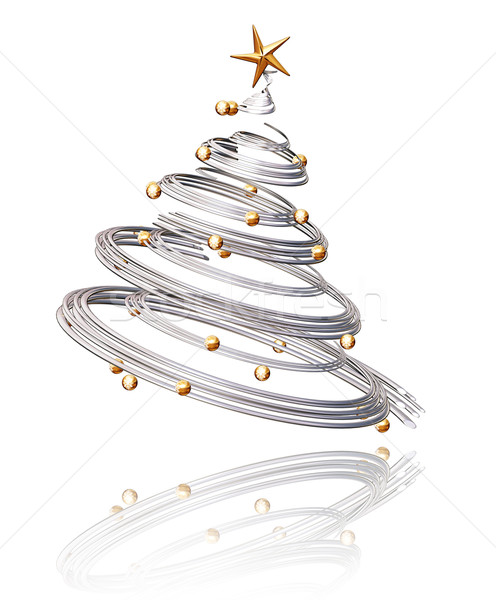 Christmas tree Stock photo © kjpargeter