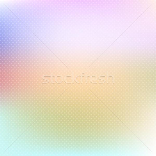 Pastel à pois soft résumé rétro Photo stock © kjpargeter