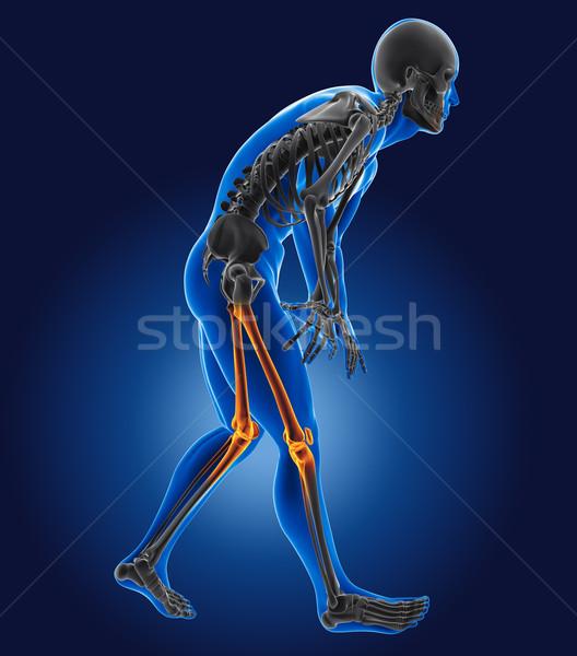 3D medical man Stock photo © kjpargeter