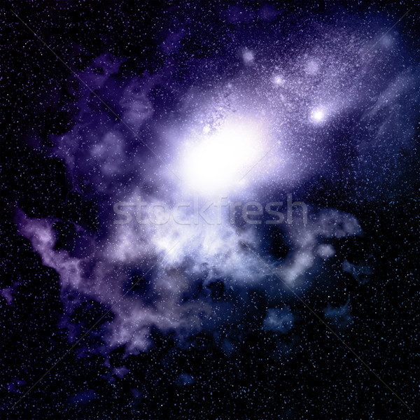 Space background  Stock photo © kjpargeter