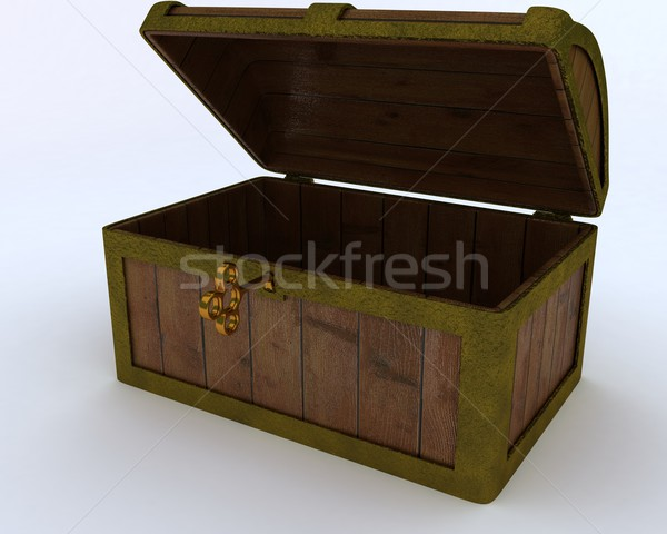 Pirates treasure chest Stock photo © kjpargeter