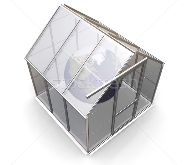 Greenhouse effect Stock photo © kjpargeter