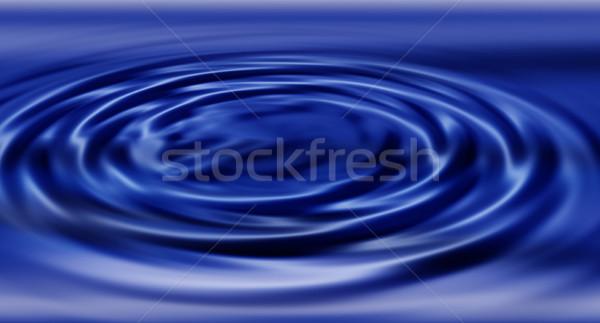 水 抽象 背景 藍色 數字 液體 商業照片 © kjpargeter