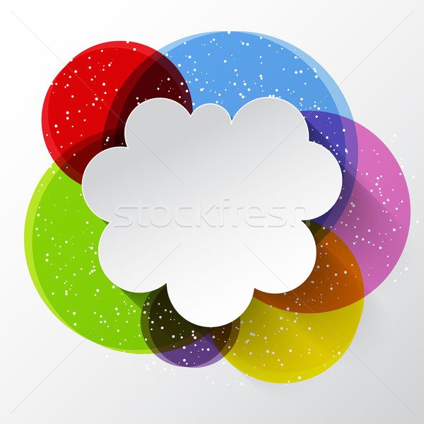 Abstract cloud background  Stock photo © kjpargeter