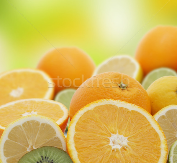 Fresh fruit Stock photo © kjpargeter