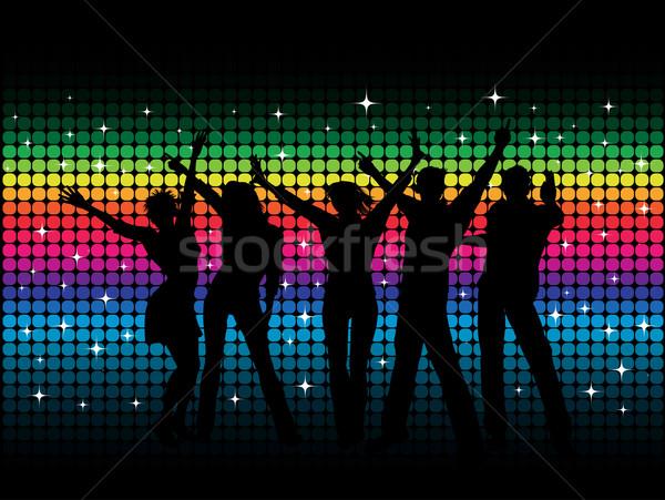 Сток-фото: вечеринка · люди · танцы · дискотеку · девушки