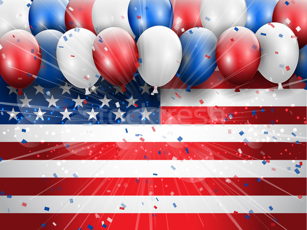 Independence Day 4th July celebration background Stock photo © kjpargeter