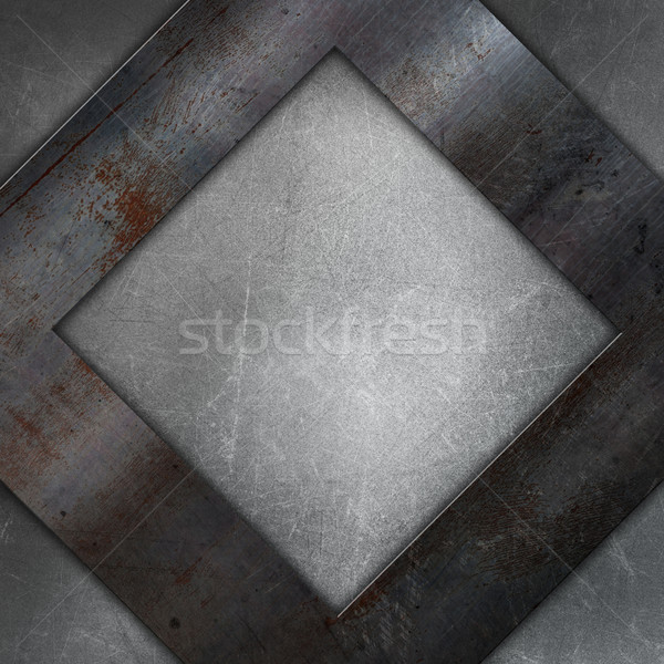 Soyut Metal madeni doku çelik kazıyın Stok fotoğraf © kjpargeter