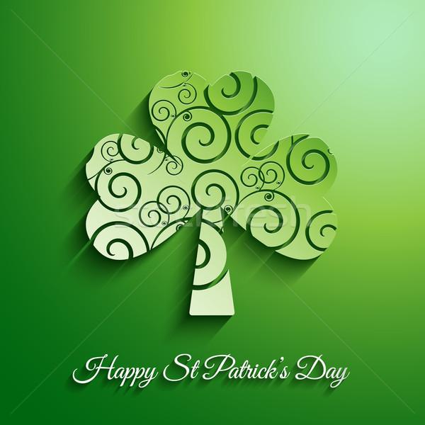 St Patricks Day background Stock photo © kjpargeter