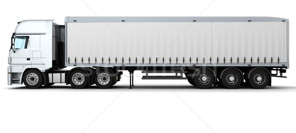 Cargo Delivery Vehicle Stock photo © kjpargeter