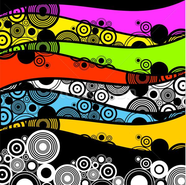 нет описание фон обои шаблон круга Сток-фото © kjpargeter