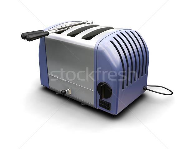 Toaster Stock photo © kjpargeter