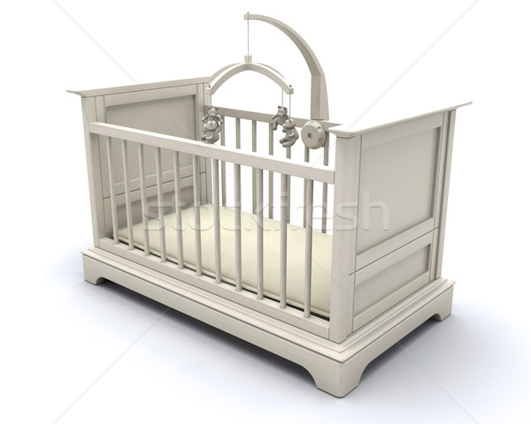 Cot for baby Stock photo © kjpargeter