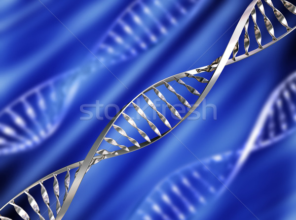 DNA background Stock photo © kjpargeter
