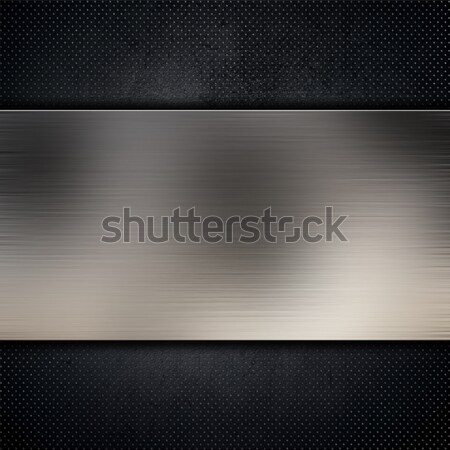 Metal on carbon fibre Stock photo © kjpargeter