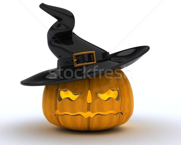 Carved pumpkin Jacko Lantern Stock photo © kjpargeter