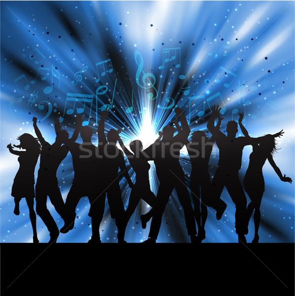 Сток-фото: вечеринка · люди · танцы · музыки · отмечает · женщину