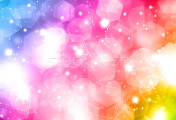 Colourful Christmas background Stock photo © kjpargeter