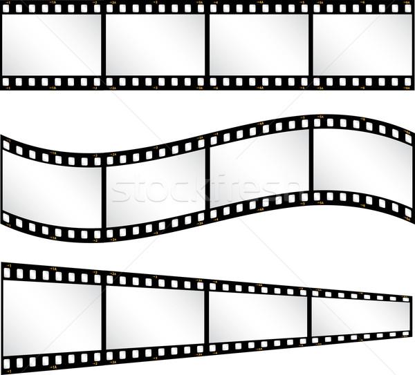 Filmstrip backgrounds Stock photo © kjpargeter