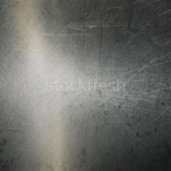Grunge brushed metal background Stock photo © kjpargeter