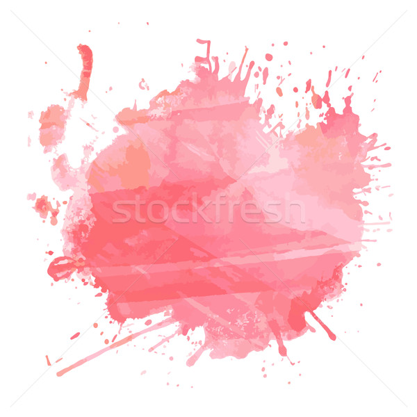 Watercolour splatter  Stock photo © kjpargeter
