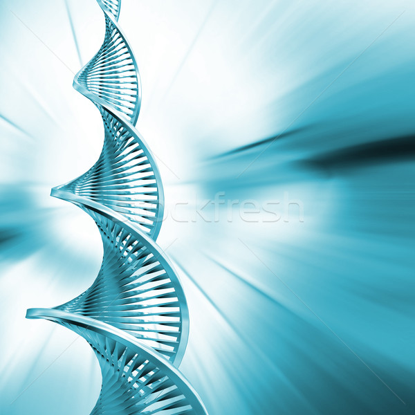 Dna abstract technologie geneeskunde wetenschap leven Stockfoto © kjpargeter