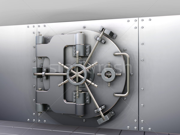 Bank vault Stock photo © kjpargeter
