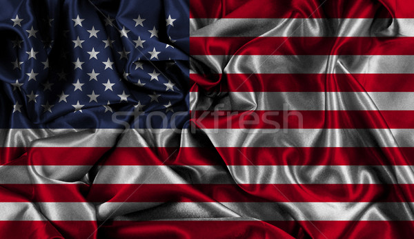 American flag background Stock photo © kjpargeter