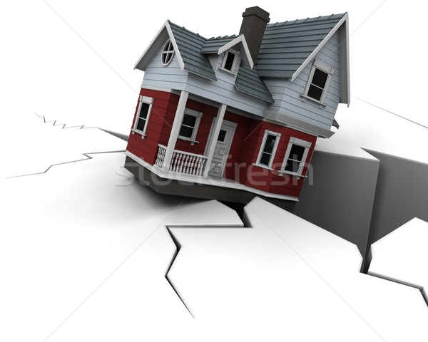 Declining Property Prices Stock photo © kjpargeter