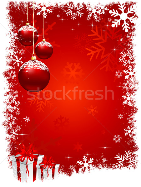 christmas background Stock photo © kjpargeter