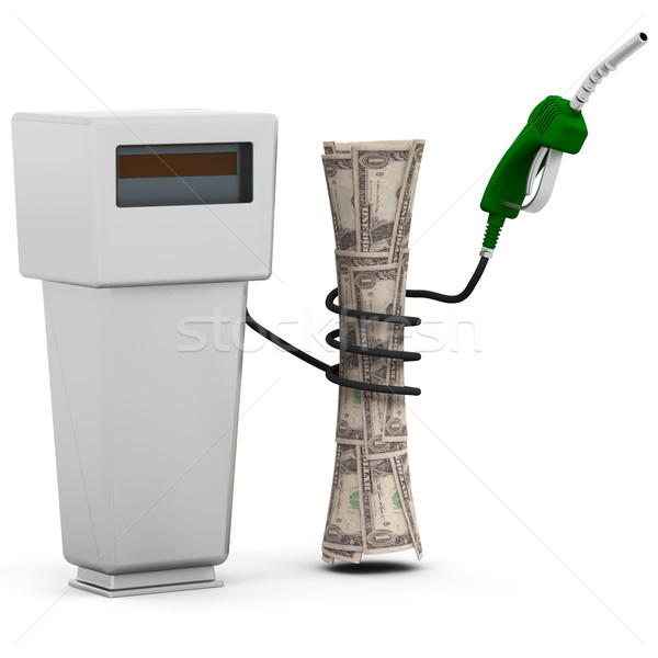 Rising fuel prices Stock photo © kjpargeter