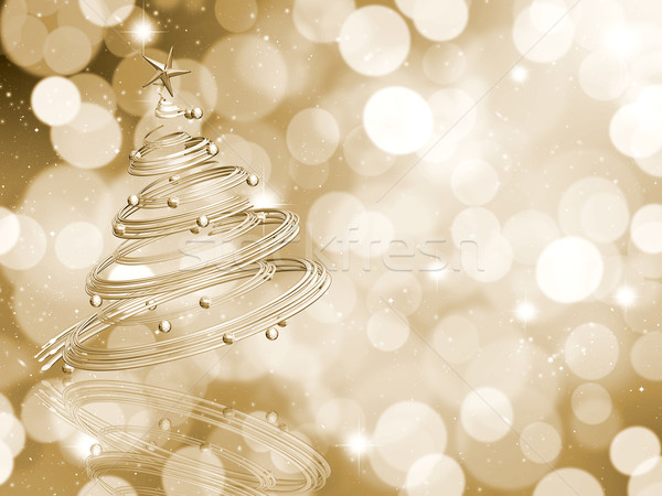 Christmas tree background Stock photo © kjpargeter
