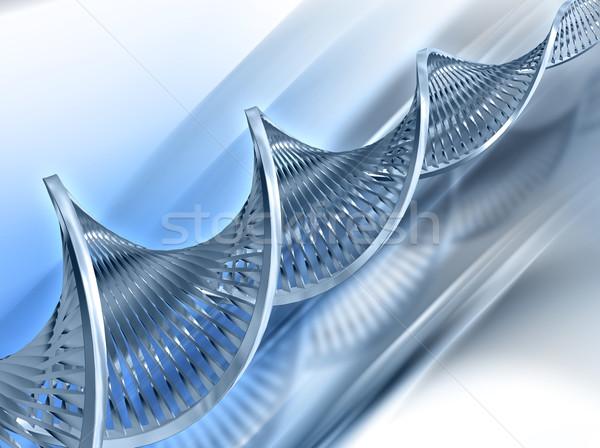 Abstract dna medische gezondheid leven chemie Stockfoto © kjpargeter